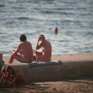 Bares Naturist Beach Slab