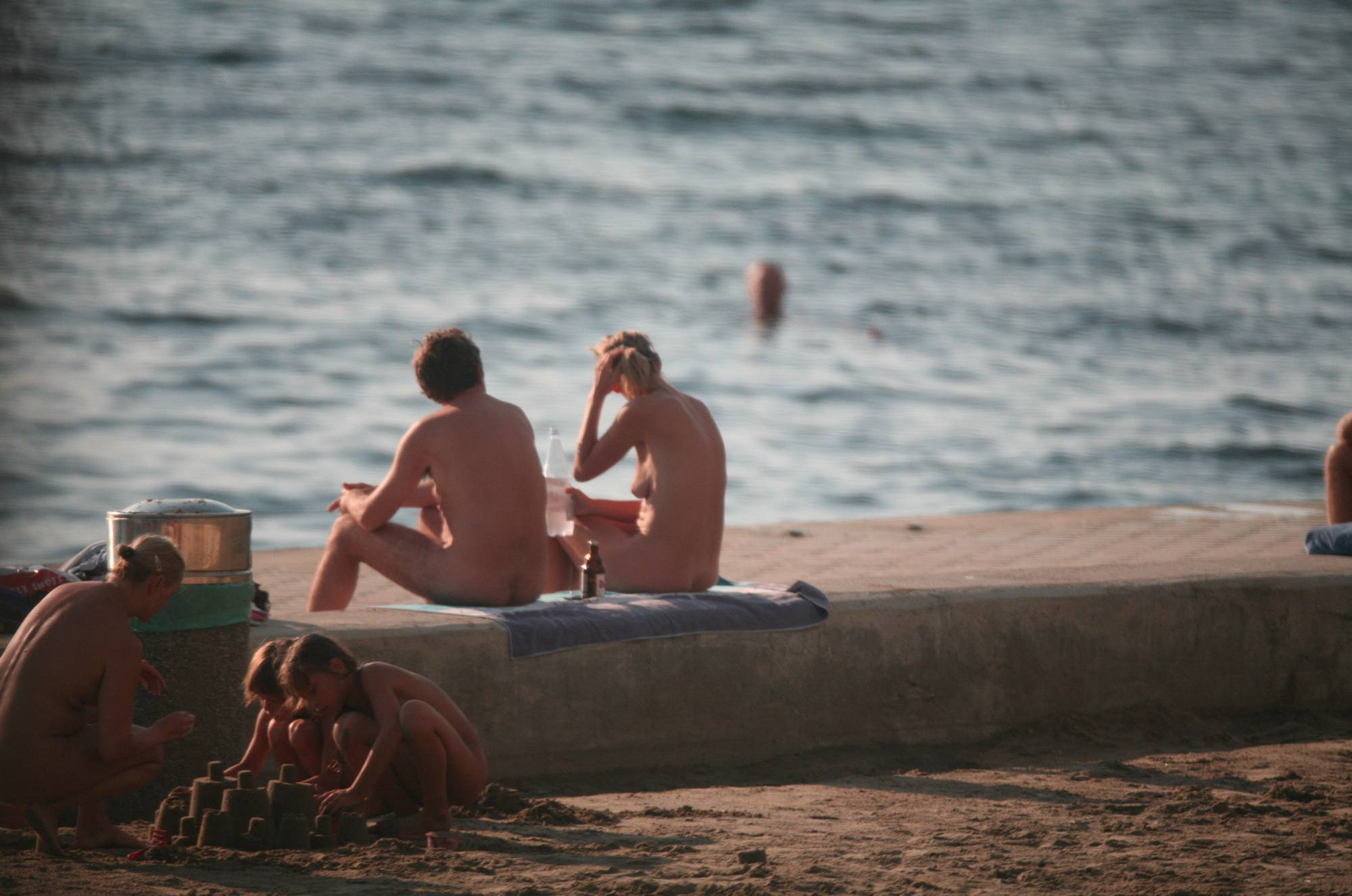 Bares Naturist Beach Slab - 1