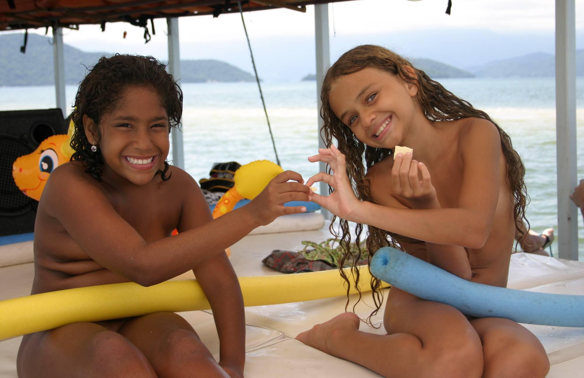 Nudist Photos Brazilian Boating Girlfriend - 1