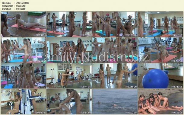 Teen Nudist Workout 2 - Candid-HD.com