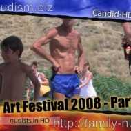 Candid-HD.com – Body Art Festival 2008 – Part 1