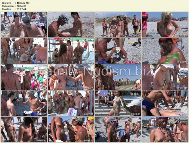 Body Art Festival 2008 - Part 1 - Candid-HD.com