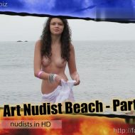 Candid-HD.com – Body Art Nudist Beach. Part 1