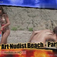 Body Art Nudist Beach. Part 2