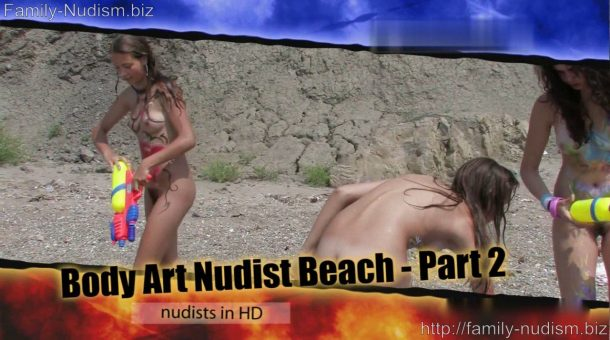 Body Art Nudist Beach. Part 2 - screenshot
