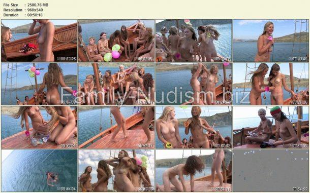 Miss Teen Crimea Naturist 2008 - screenlist