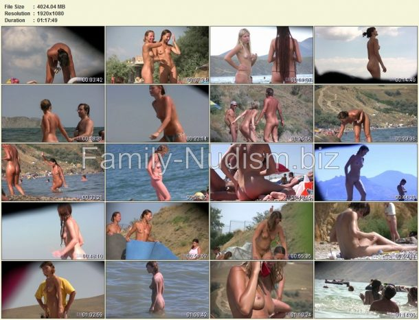Candid Family Nudism Part 1 - screenshots list