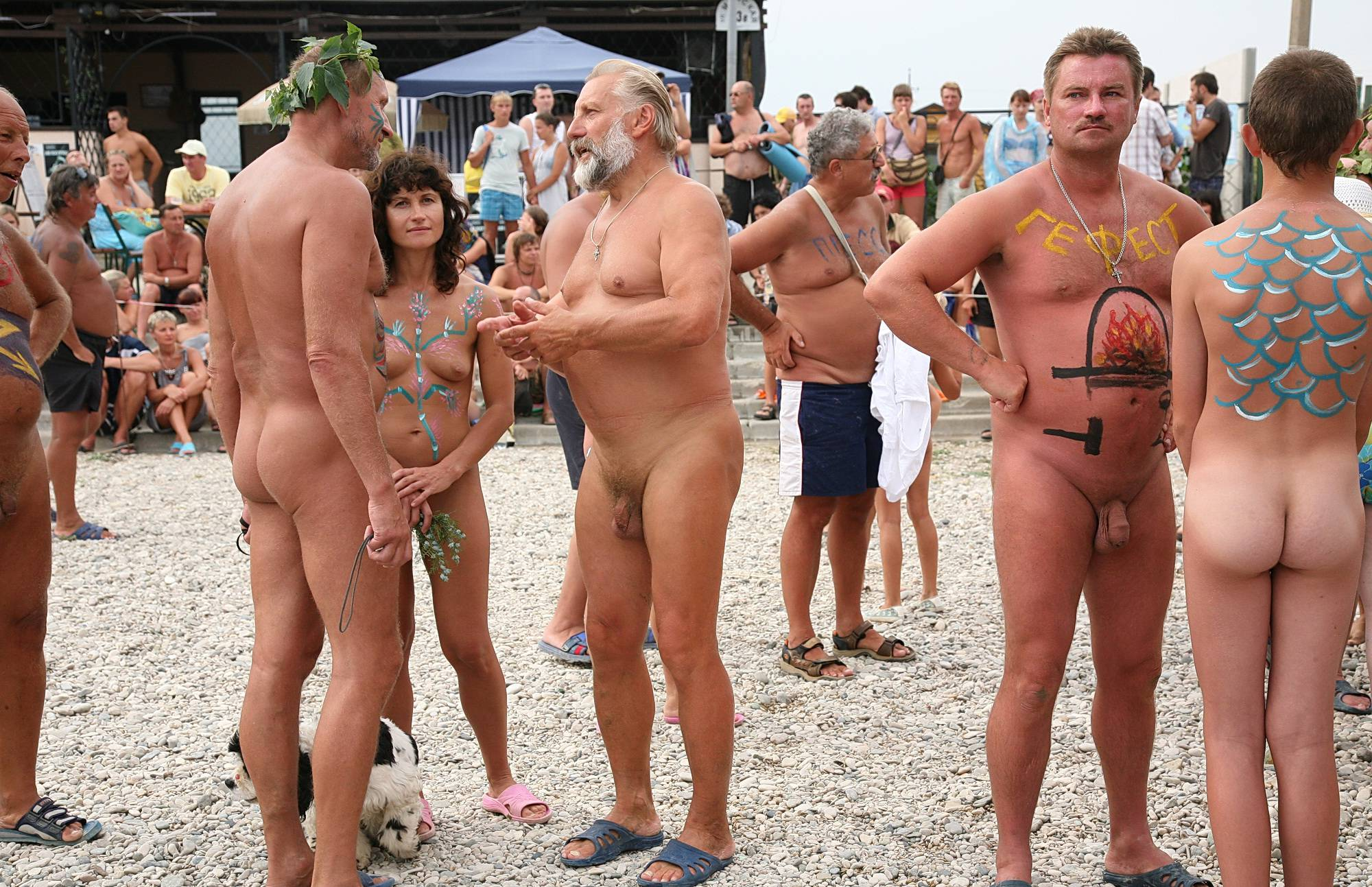 Pure Nudism Pics Cloudy Day On A Beach - 2