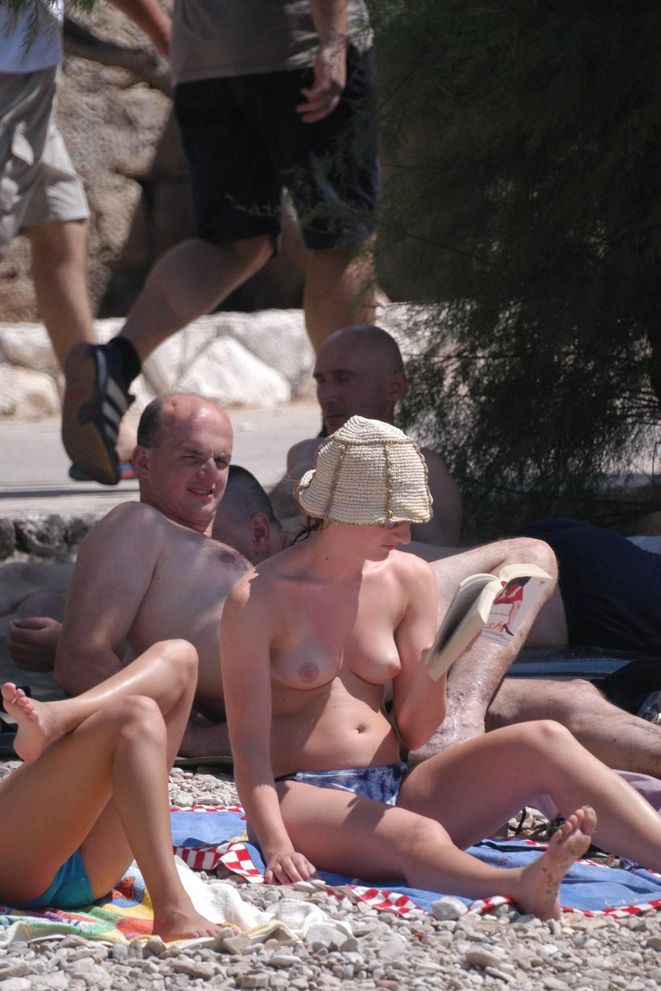 Pure Nudism Gallery Croatian Hvar Beach Trip - 1