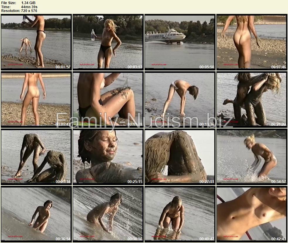 Dirty Girls - Naturistin.com 2