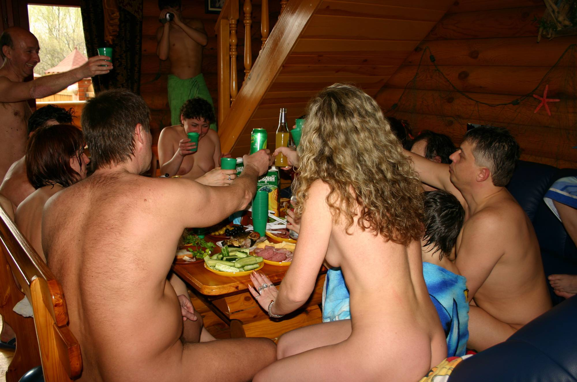 Nudist Pics Easter Egg Hatch and Dinner - 1