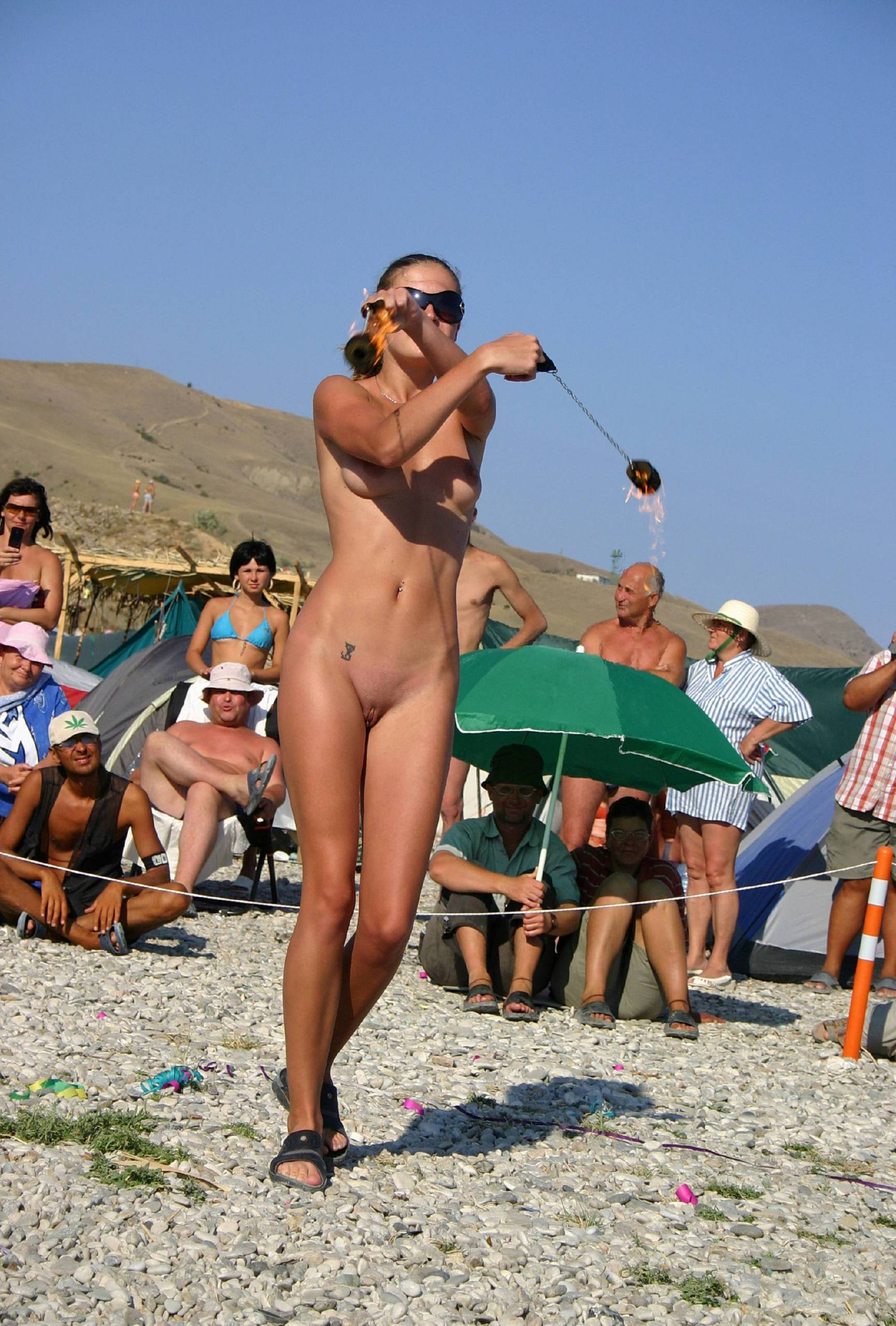 Nudist Gallery Female Fire Ninja Warrior - 1