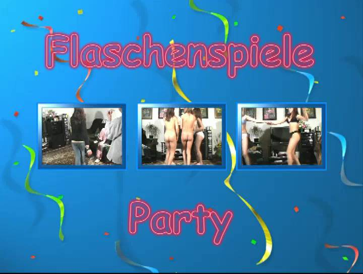 Flaschenspiele Party - Poster