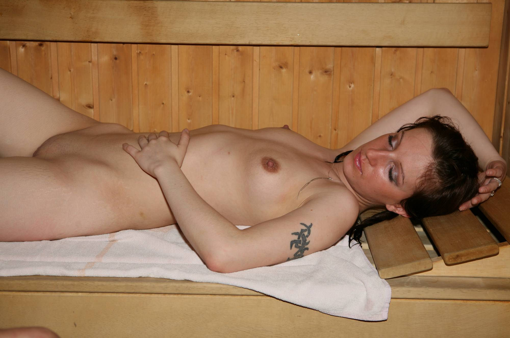 Purenudism Photos Friends Nude Pool Sauna - 2
