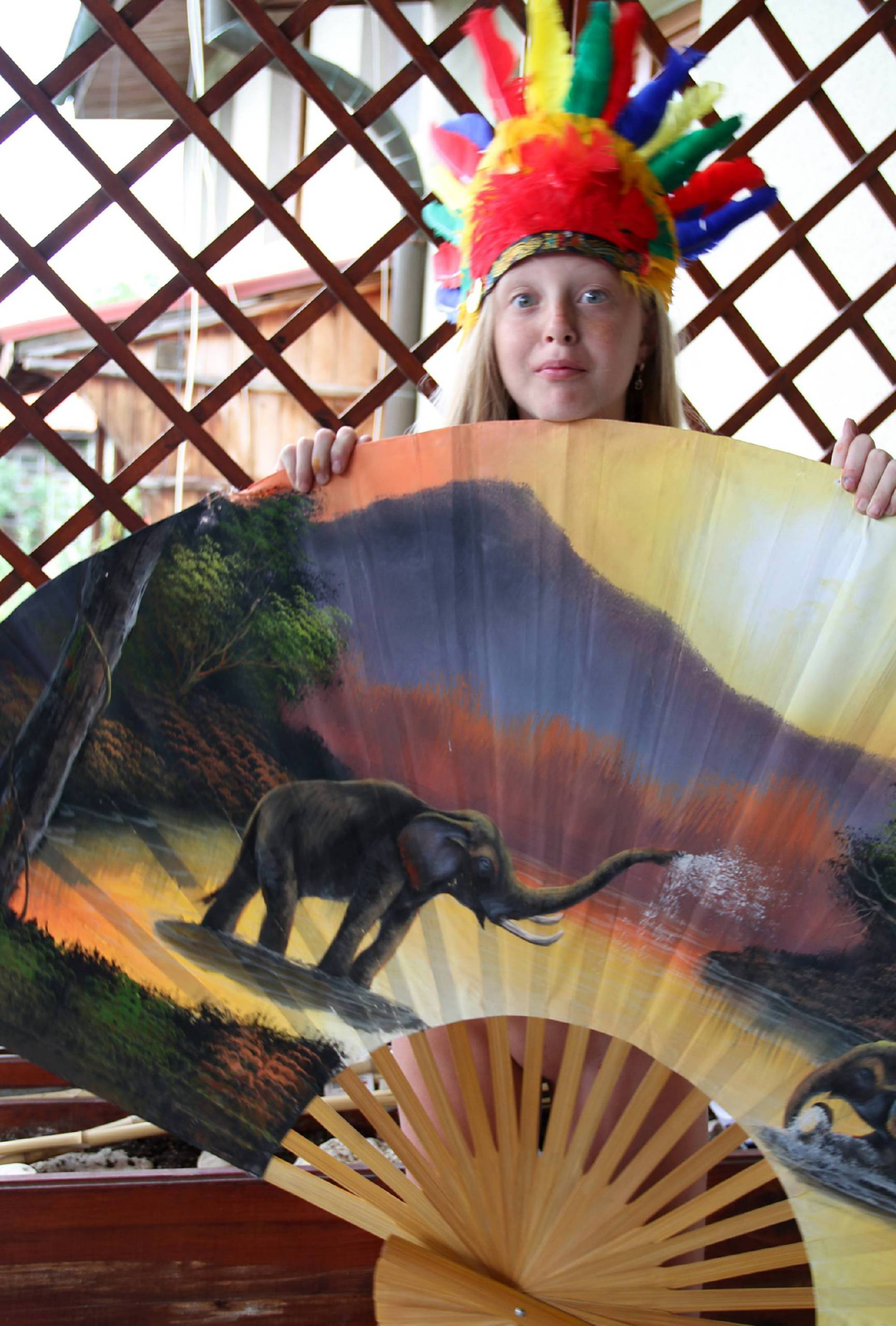 Nudist Pics Indian Summer Painting - 1