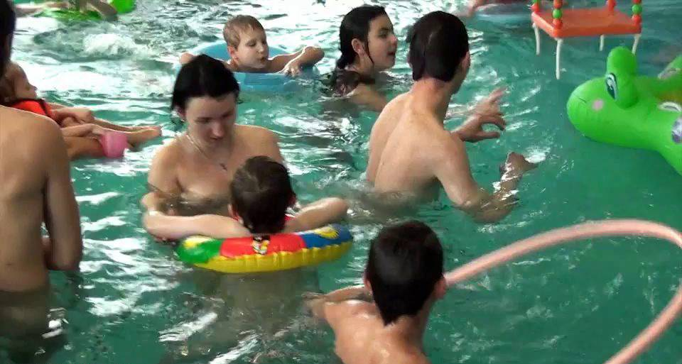 Nudist Videos Indoor Swim Exercise - 2