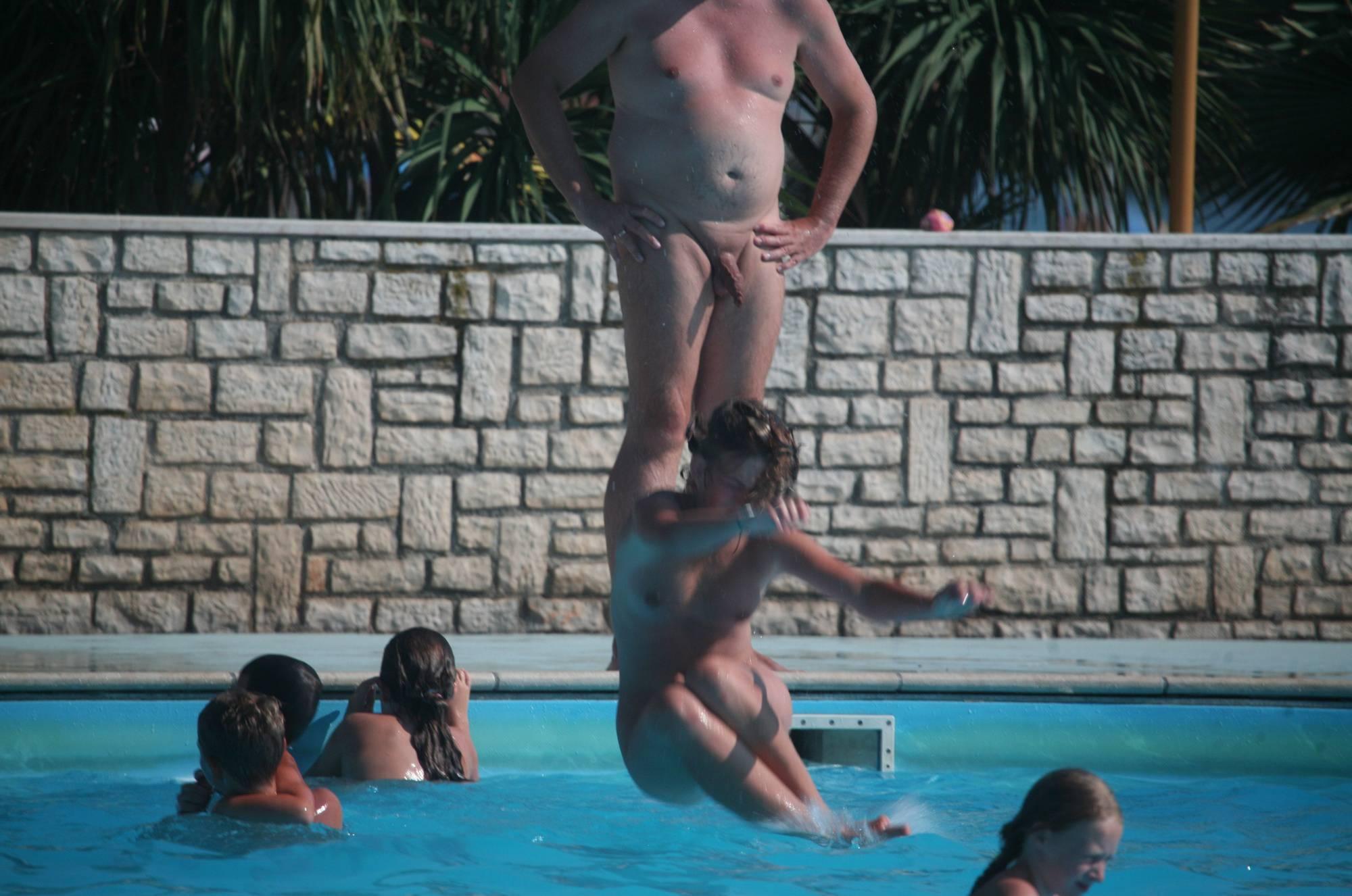 Inside Nudist Pool Waters - 2