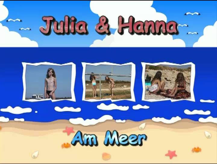 Julia and Hanna Am Meer - Poster