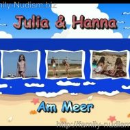 Julia and Hanna Am Meer – Naturistin.com