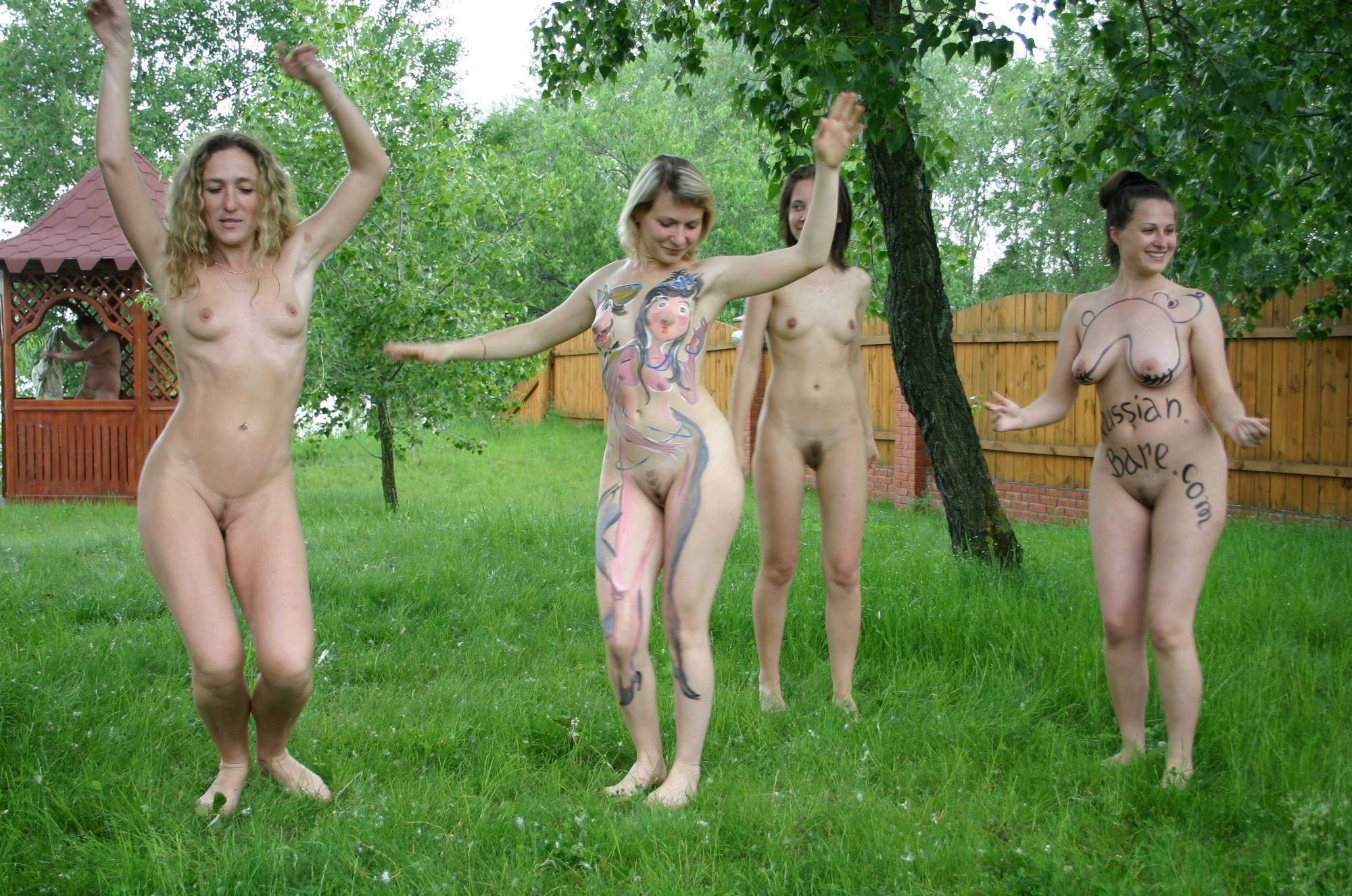 Purenudism Photos Kiev Backyard Greens Play - 1