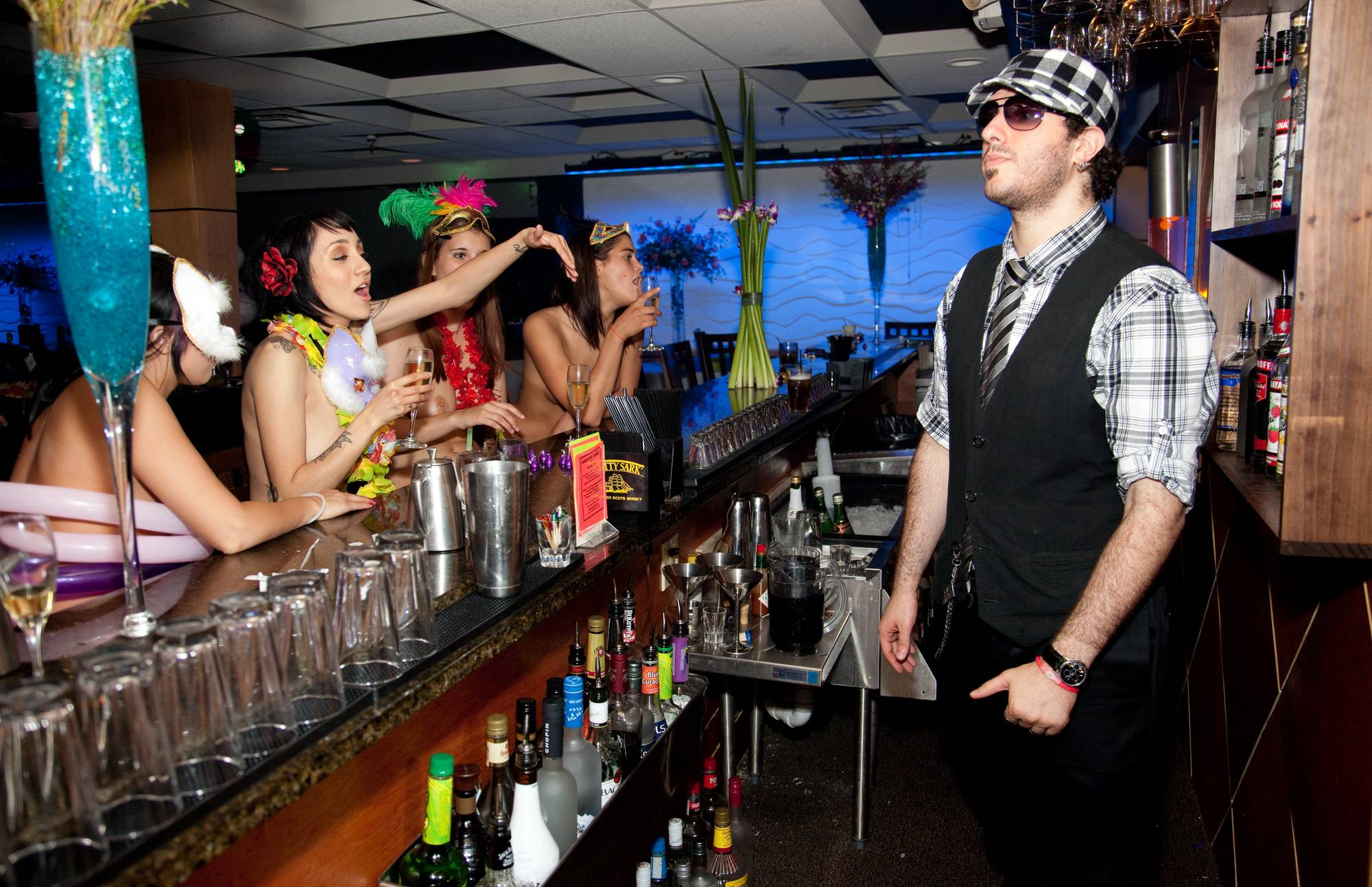 Masquerade Bar Scene - 2