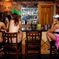 Masquerade Bar Scene