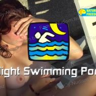 Naturist Freedom – Night Swimming Pool