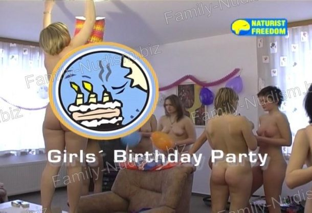 Girls' Birthday Party - Naturist Freedom
