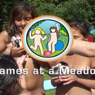 Games at a Meadow – Naturist Freedom