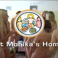 At Monika's Home