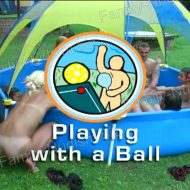 Playing With a Ball – Naturist Freedom Videos