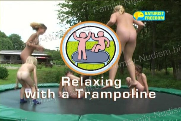 Relaxing with a Trampoline frame