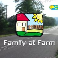 Family at Farm