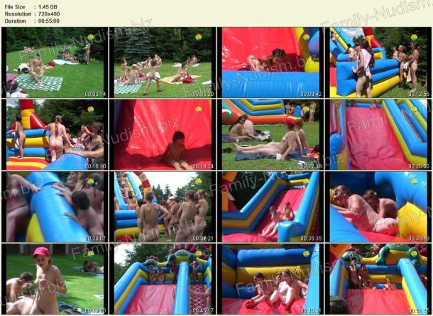 Inflatable Slide - film stills 1