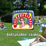 Inflatable Slide – Naturist Freedom