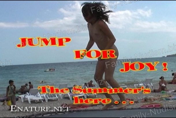 Enature - Jump for Joy! The Summer's Here [Russianbare,AWWC] - cover