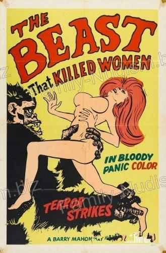 The Beast That Killed Women 1965 - Nudist Movie