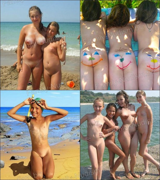 Children and home nudism - Nudist Pics