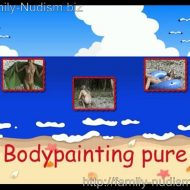 Bodypainting Pure video