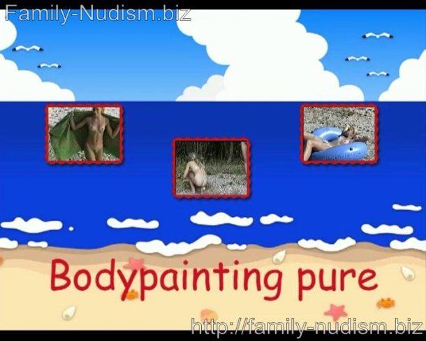 Bodypainting pure (Naturistin.com)