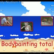 Bodypainting total.