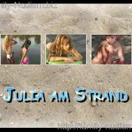 Julia am Strand video