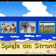 Spiele am Strand Naturistin.com studio