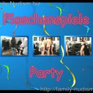 Flaschenspiele Party video from Naturistin studio