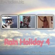 Rain Holiday 4 video from Naturistin.com