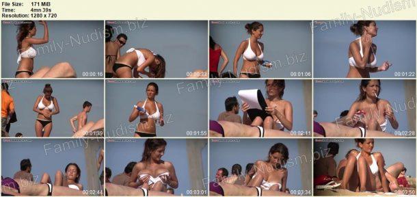 Shots of ILoveTheBeach - Nudist Spy Video 1