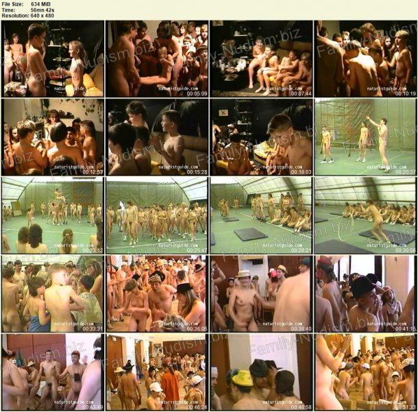 Frames of NaturistGuuide.com - Naturist buddies vol.6 1
