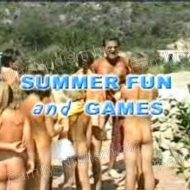 Summer Fun and Games – Nudist Video