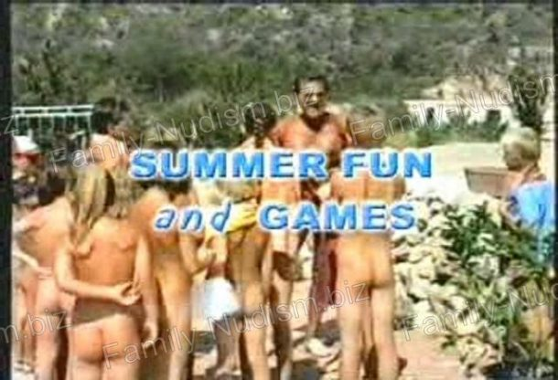 Summer Fun and Games - Nudist Video - frame