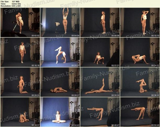 Naked Gymnast - Margo 05.03.2010 - Nudist Video screenshot